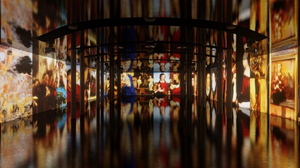 L'installazione site-specific Renaissance Dreams — creata appositamente per MEET — dell'artista e regista turco Refik Anadol nella Sala Immersiva