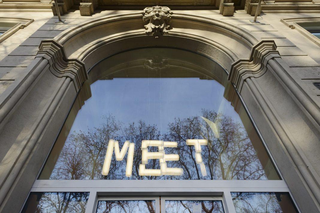 L'ingresso di MEET, Via Vittorio Veneto 2, Milano. Foto Michele Nastasi