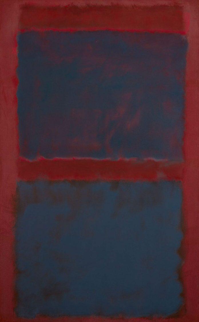 Rothko, Untitled (Black On Maroon), 1958. Sotheby's