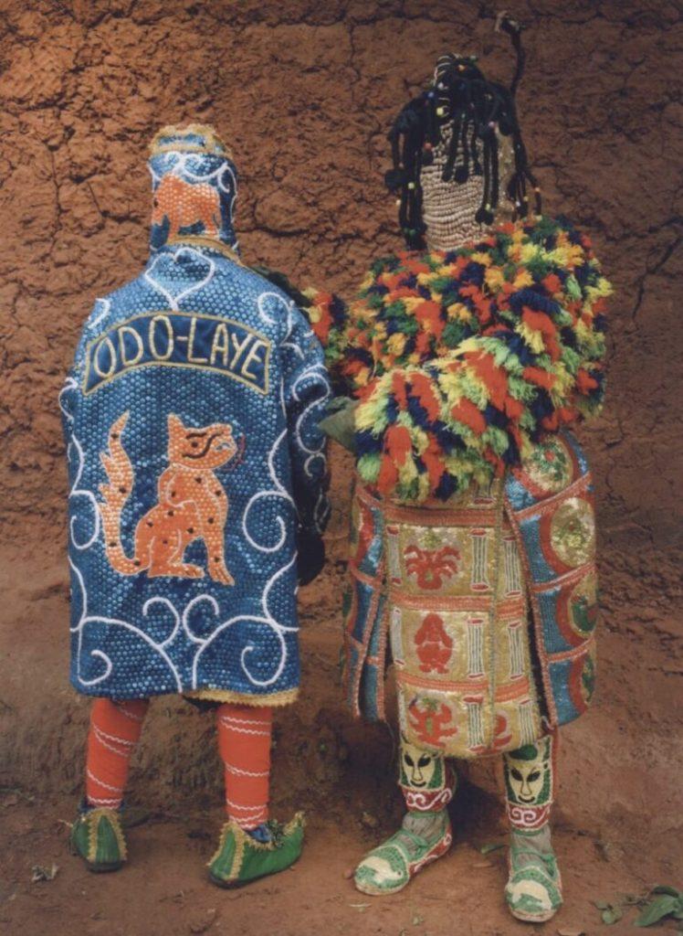 Leonce Raphael Agbodjelou – Untitled #2 (Egungun series) 2011
