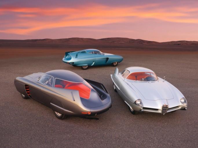 Alfa Romeo B.A.T. 5, Alfa Romeo B.A.T. 7 and Alfa Romeo B.A.T. 9D. Sotheby's