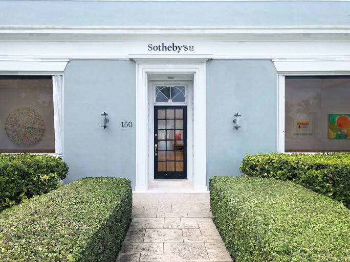 Un rendering della nuova sede di Sotheby's a Palm Beach