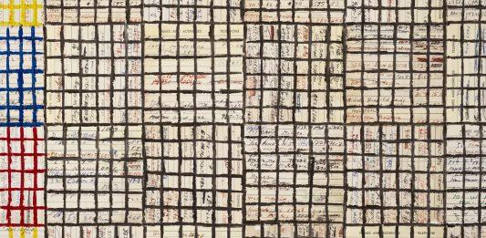 McArthur Binion – Modern Ancient Brown