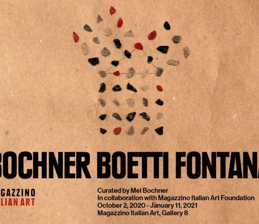 Bochner Boetti Fontana