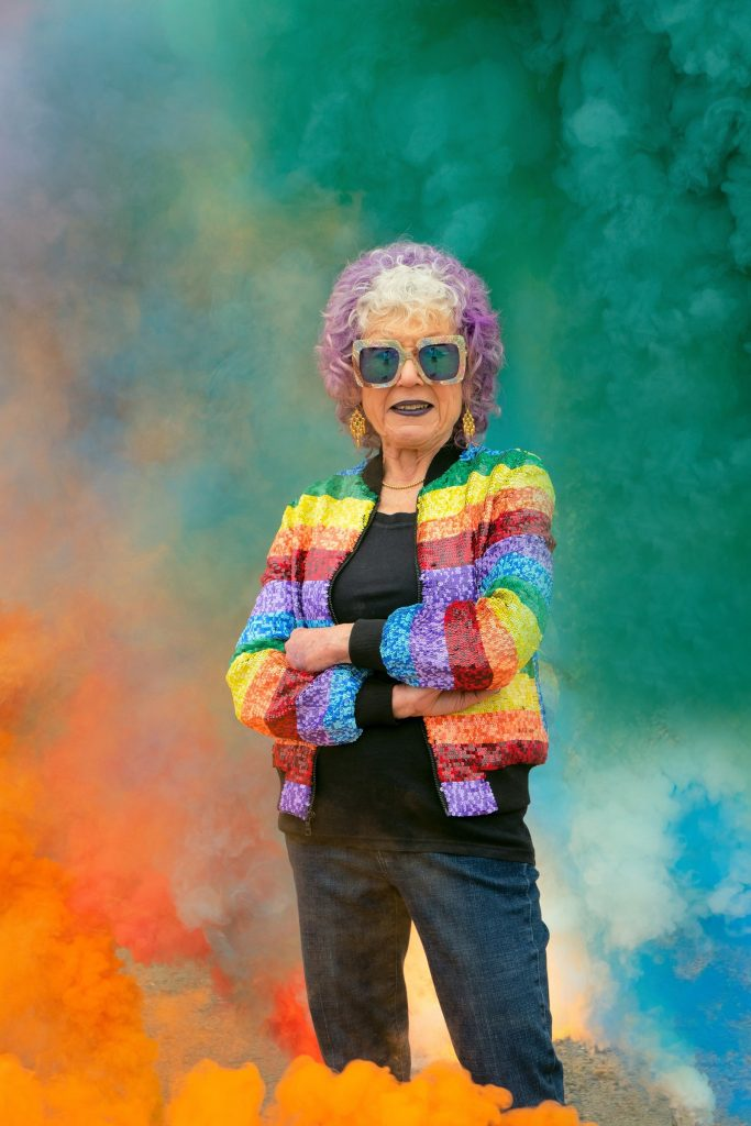 Judy Chicago (2020) Photo © Donald Woodman/ARS, New York