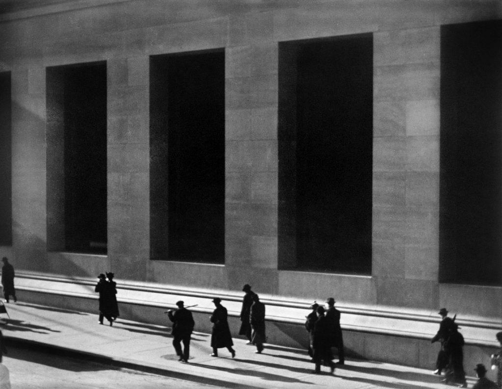 Paul Strand, Wall Street, New York City, 1915