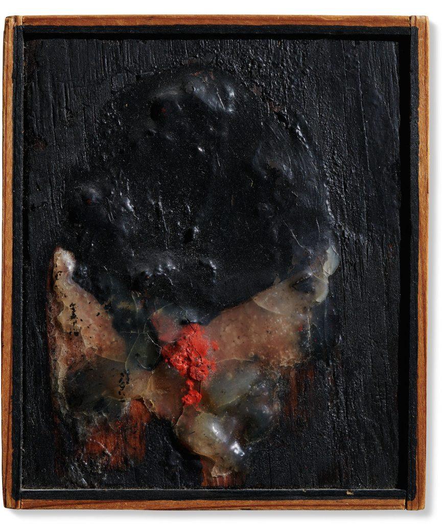 Alberto Burri, Senza titolo (1965). Christie's, Thinking Italian Milan