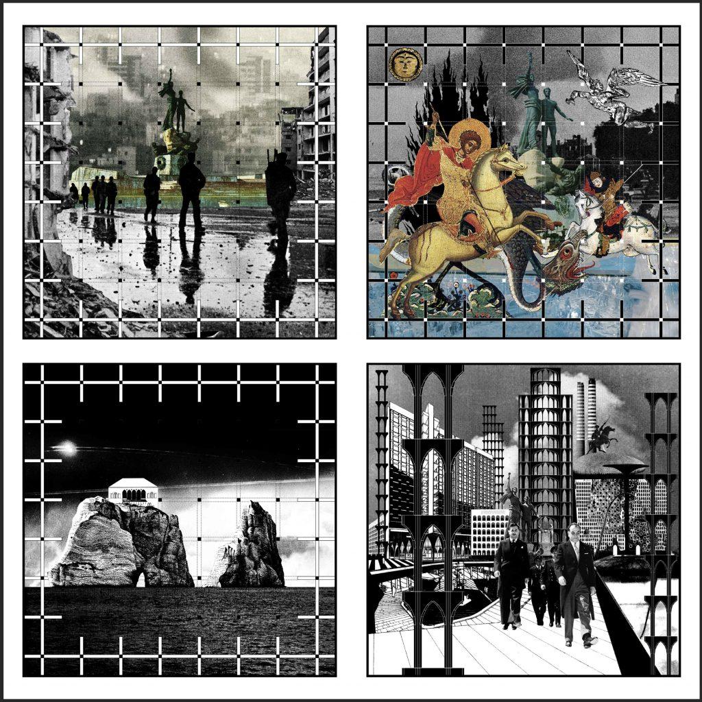 Alfred Tarazi, Dear Madness 2017 30.5x30.5cm ognuna Stampa giclée su carta Hahnemulhe / struttura in acciaio / vetro