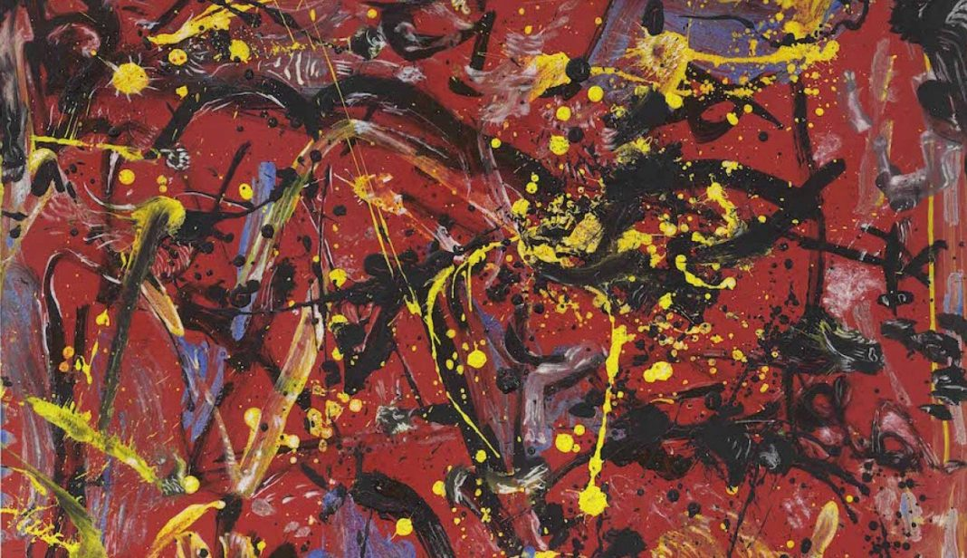 Jackson Pollock, Red Composition (1946). Deaccessioning