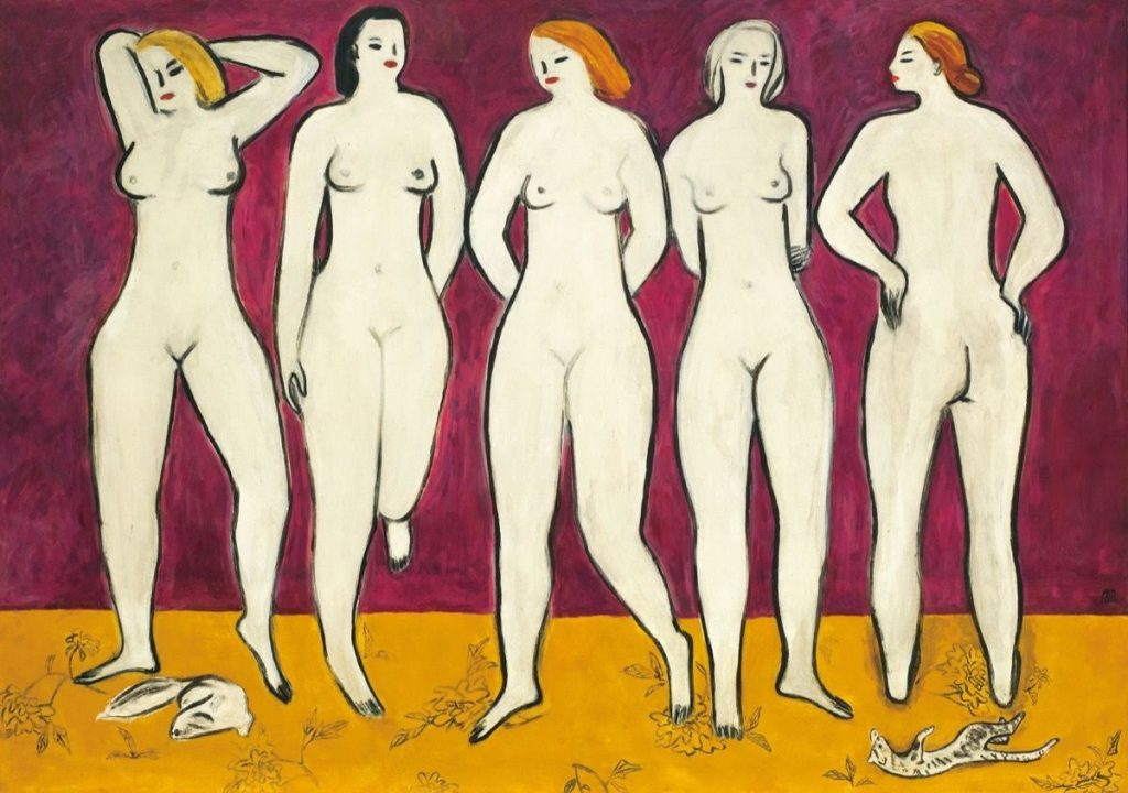 Sanyu, Five Nudes. Christie's