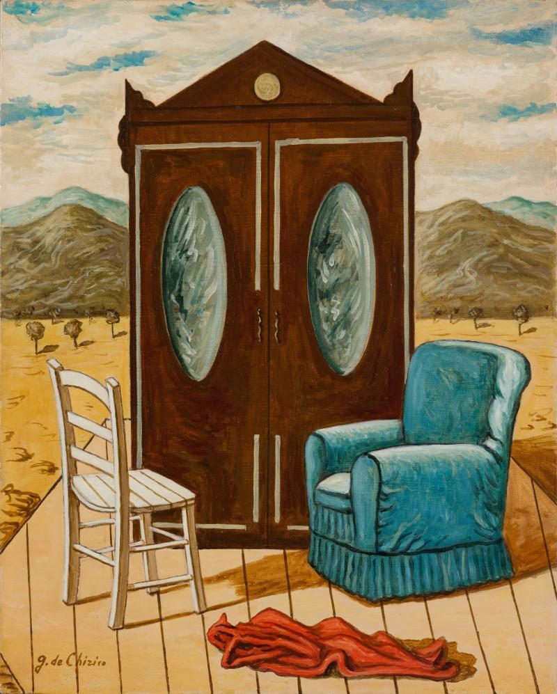 Giorgio de Chirico, Mobili nella Valle (anni '60). Contemporary Art Milan, Sotheby's