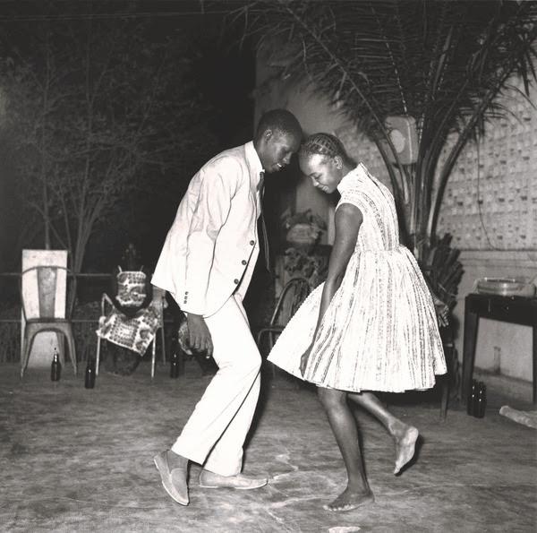 Malick Sidibé, Nuit de Noel, 1963 Courtesy of Gallery FIFTY ONE, Antwerp. Four Decades, sOTHEBY'S AIPAD