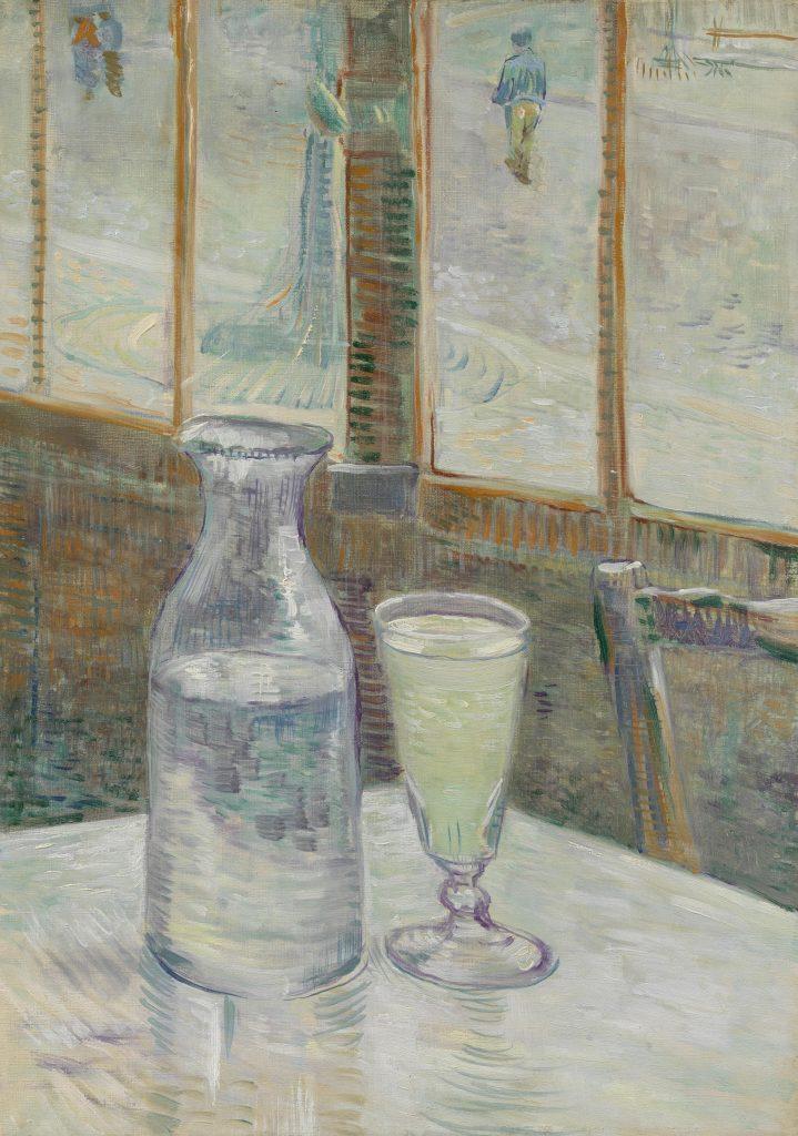 Vincent van Gogh, Tavolino di caffè con assenzio, Van Gogh Museum, Amsterdam,
