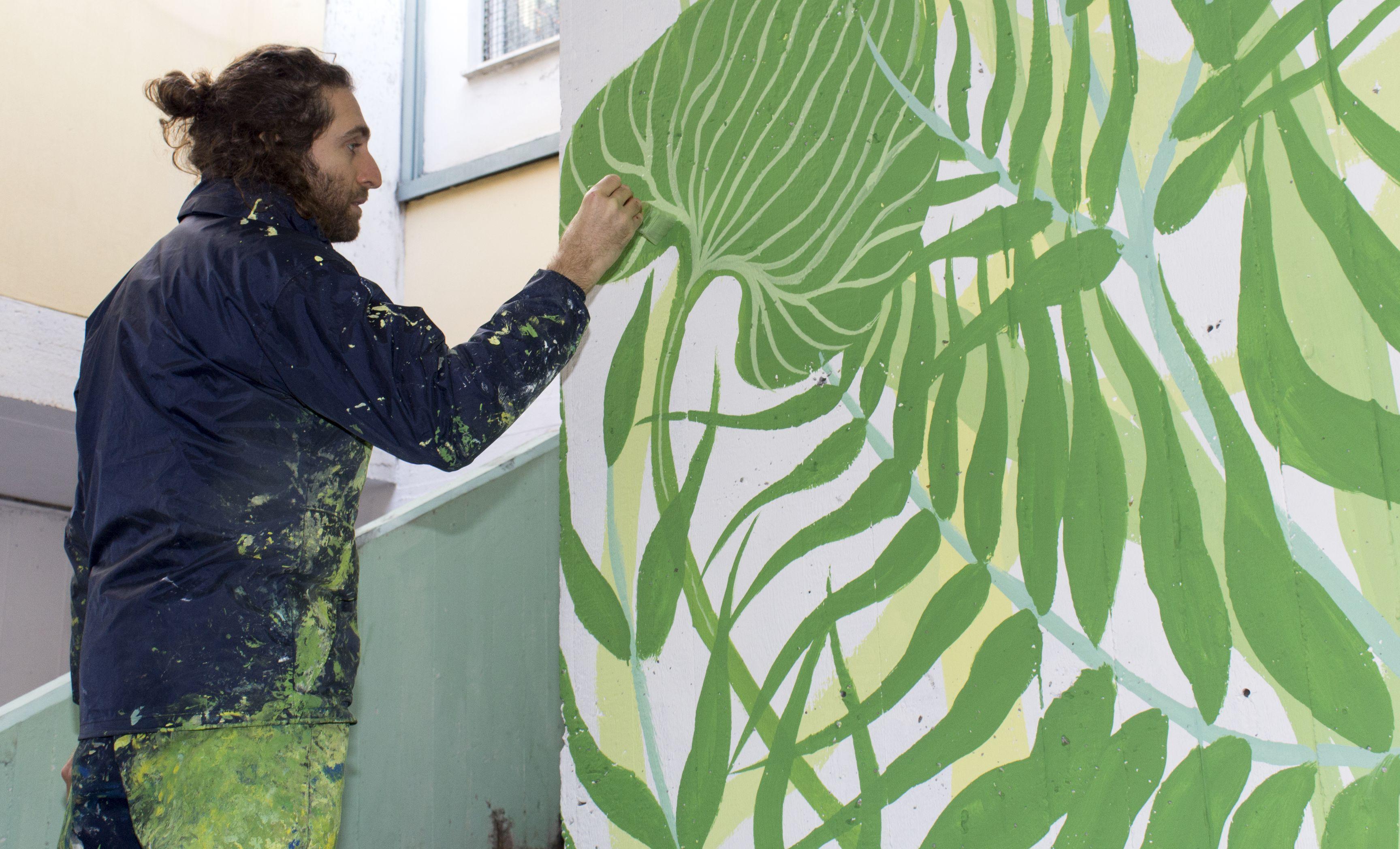 Street Art a Roma: l'opera di Gola Hundun per un progetto di rigenerazione