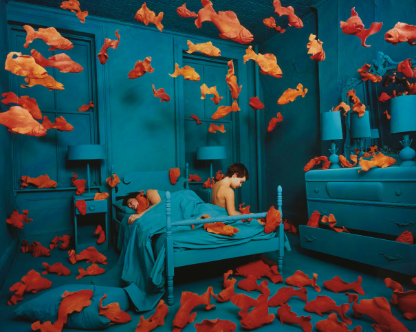 Sandy Skoglund Revenge of the Goldfish 1981. Phillips 2021