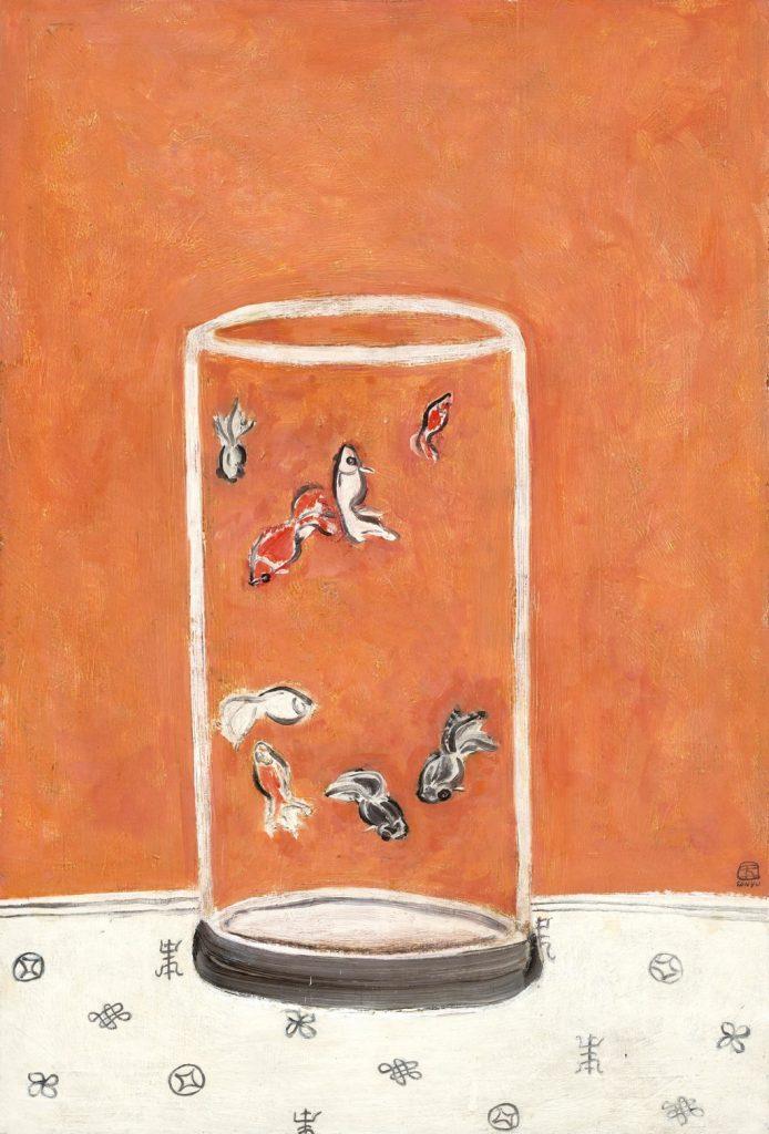 Sanyu, Goldfish. Christie's, record