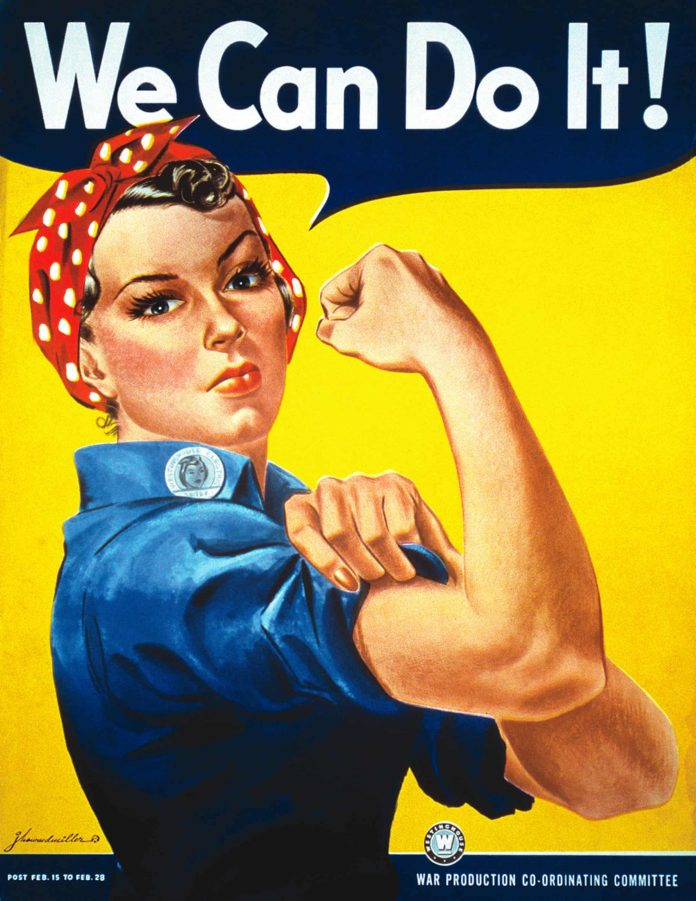 'We Can Do It!', 1943, J Howard Miller. Photograph: Donaldson Collection/Getty Images