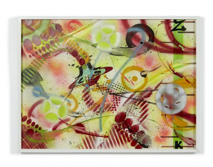RAMMELLZEE, Atomic Note ZK (1988). Artcurial, Street Art