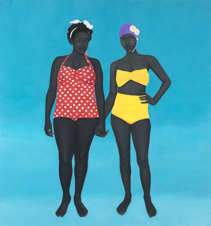 Amy Sherald, The Bathers, 2015. Phillips 2021
