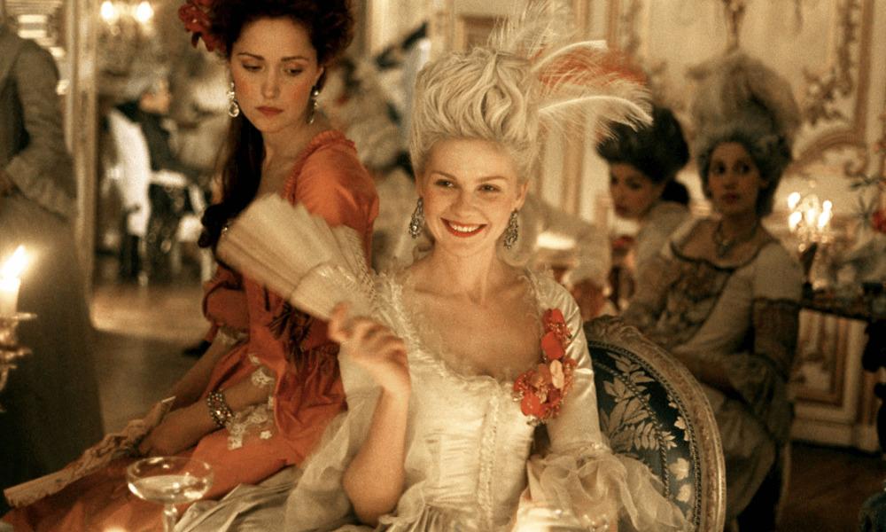 Kirsten Dunst come Marie Antoniette