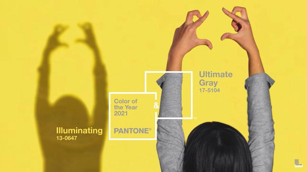 Pantone 2021 grey illuminating