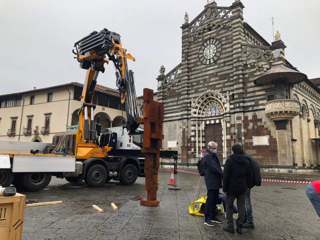 Antony Gormley a Prato