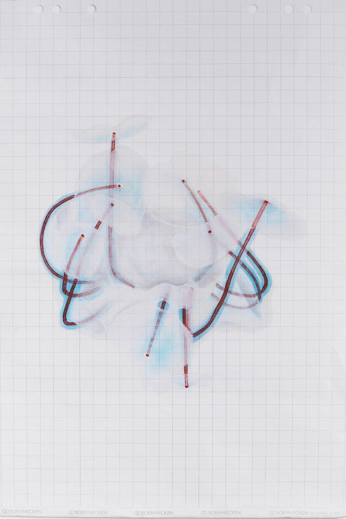 Simona Pavoni, studio per Fioretti, 2020. Courtesy dell'artista.