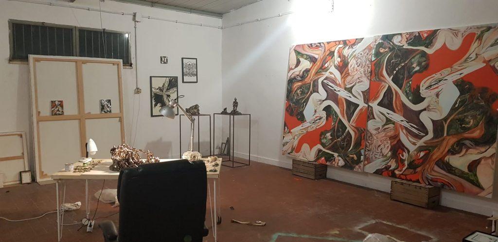 Lo Studio di Alessandro Giannì. Photo Sara Nicomedi