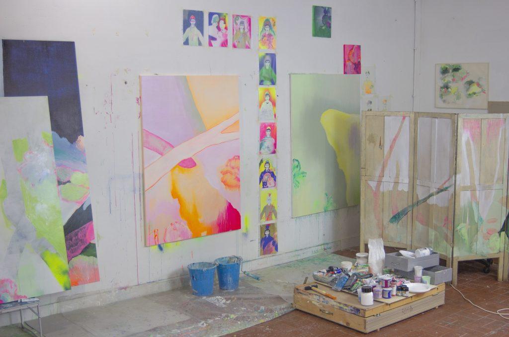 Lo studio di Delfina Scarpa