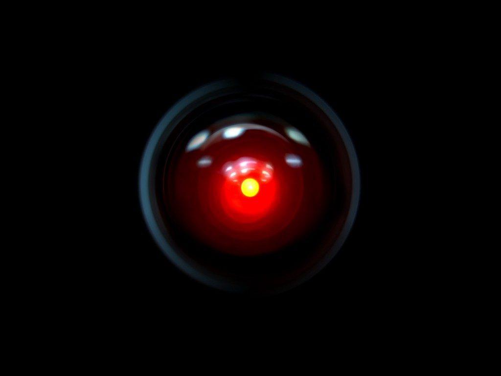 L'occhio di Hal-9000 in 2001 A Space Odyssey