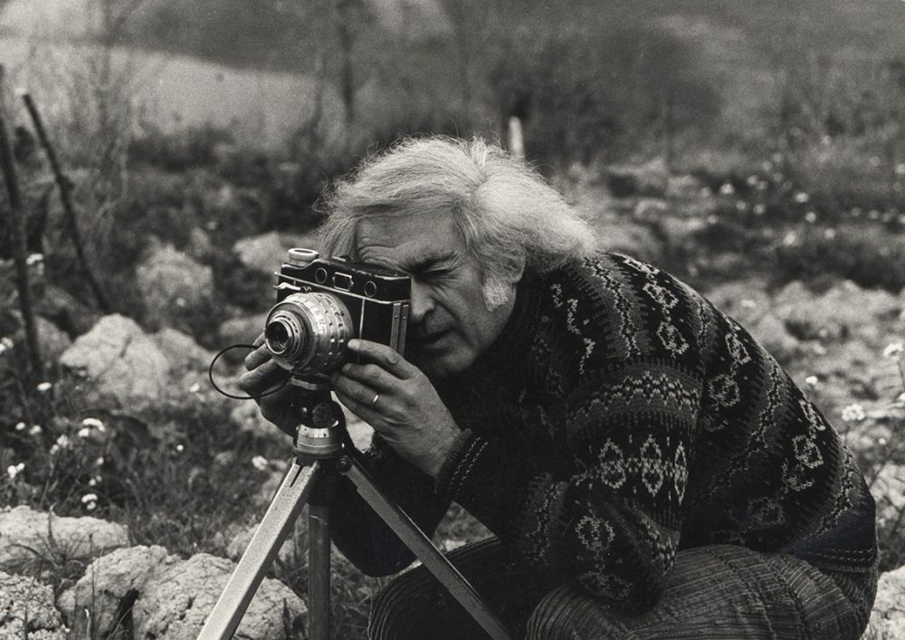 Mario Giacomelli. Photo credit: M. Martino