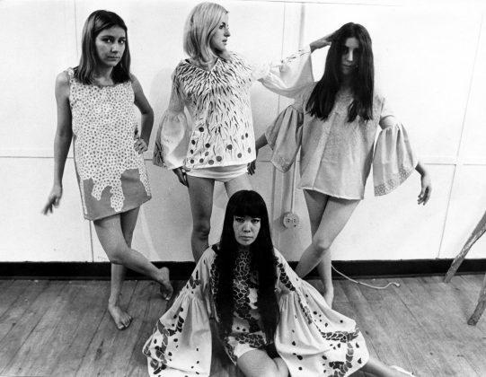 Yayoi Kusama, Kusama Fashion in her studio, New York, 1968. ©Yayoi Kusama