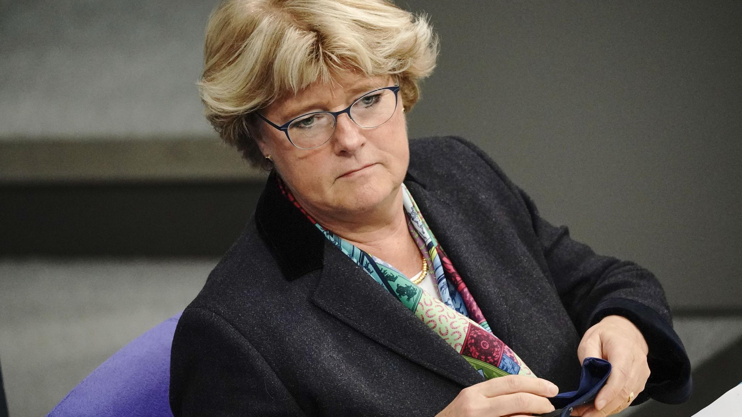 Il ministro della cultura tedescoMonika Grütters