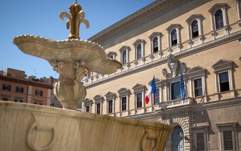 Palazzo Farnese Restauro