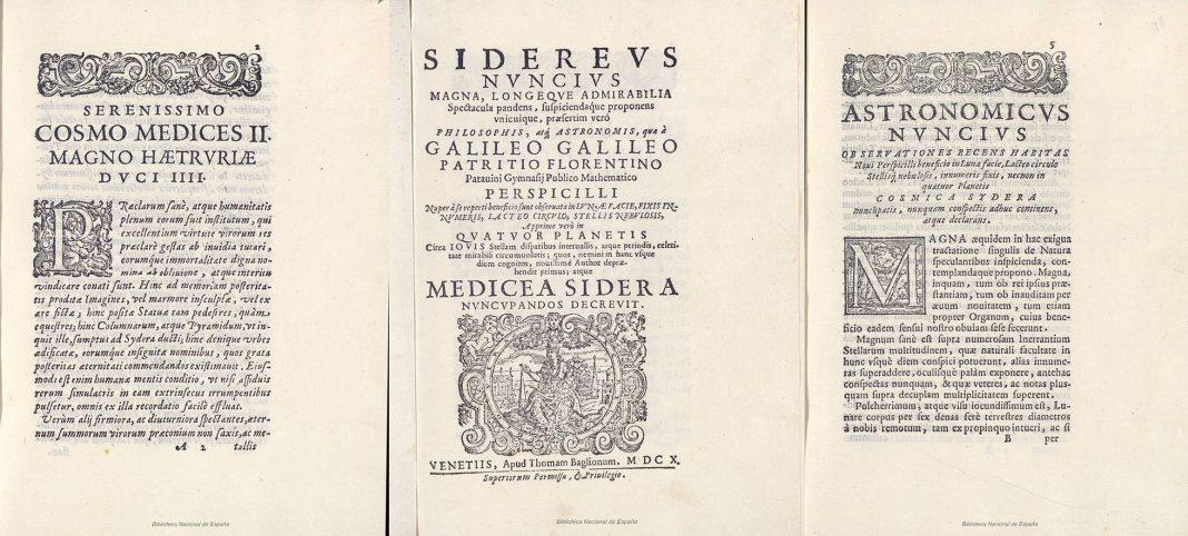 Sidereus Nuncius Galileo furto