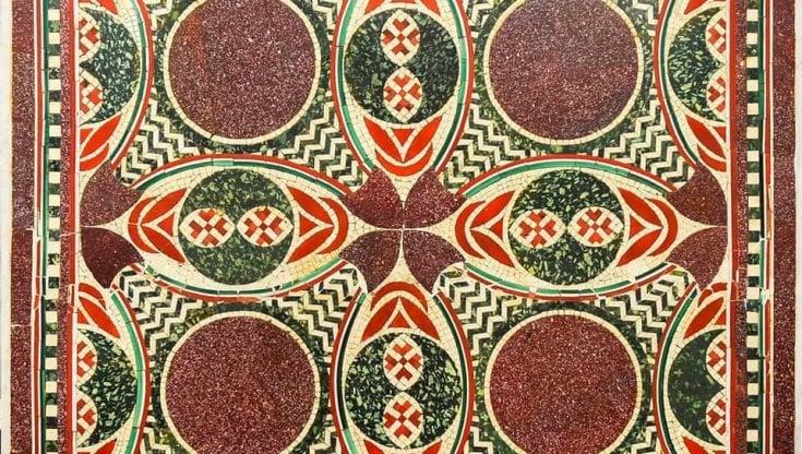 mosaico nave caligola nemi