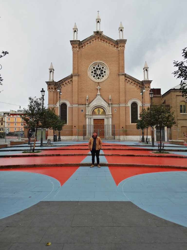 Leonardo Crudi, San Lorenzo, Roma