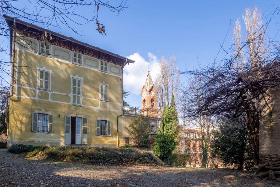 Villa giolitti cavour