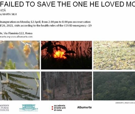Iulia Ghiță  – He failed to save one he loved most