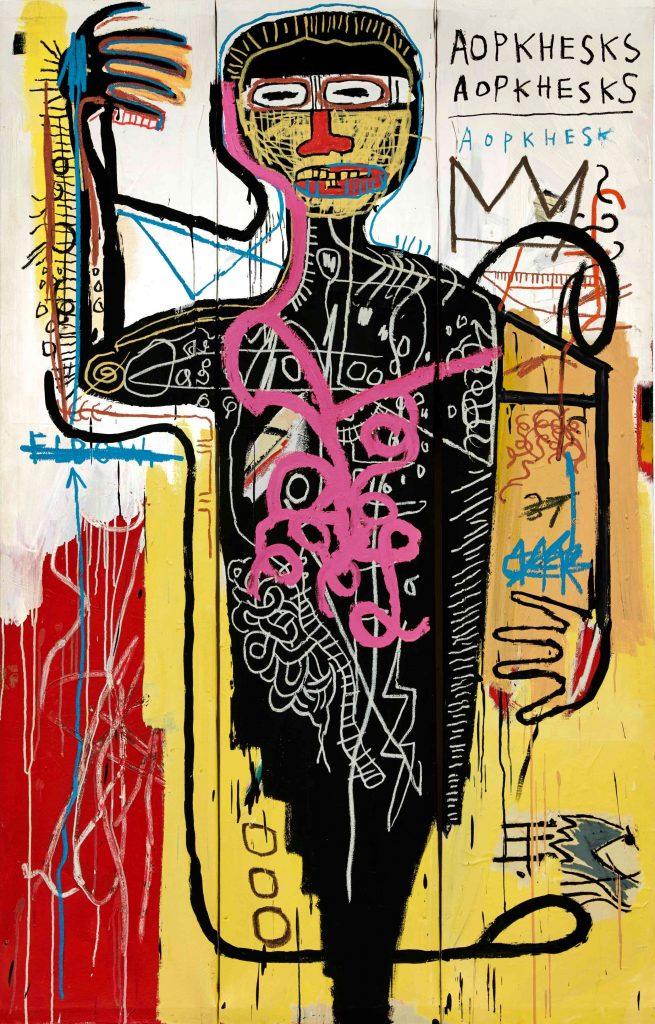 Sotheby's Basquiat Versus Medici