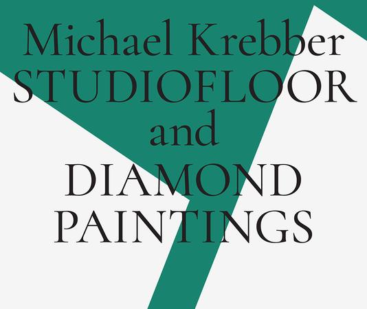 Michael Krebber – Studiofloor and Diamond Paintings