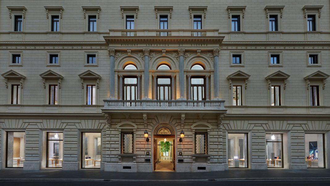 apple palazzo marignoli roma
