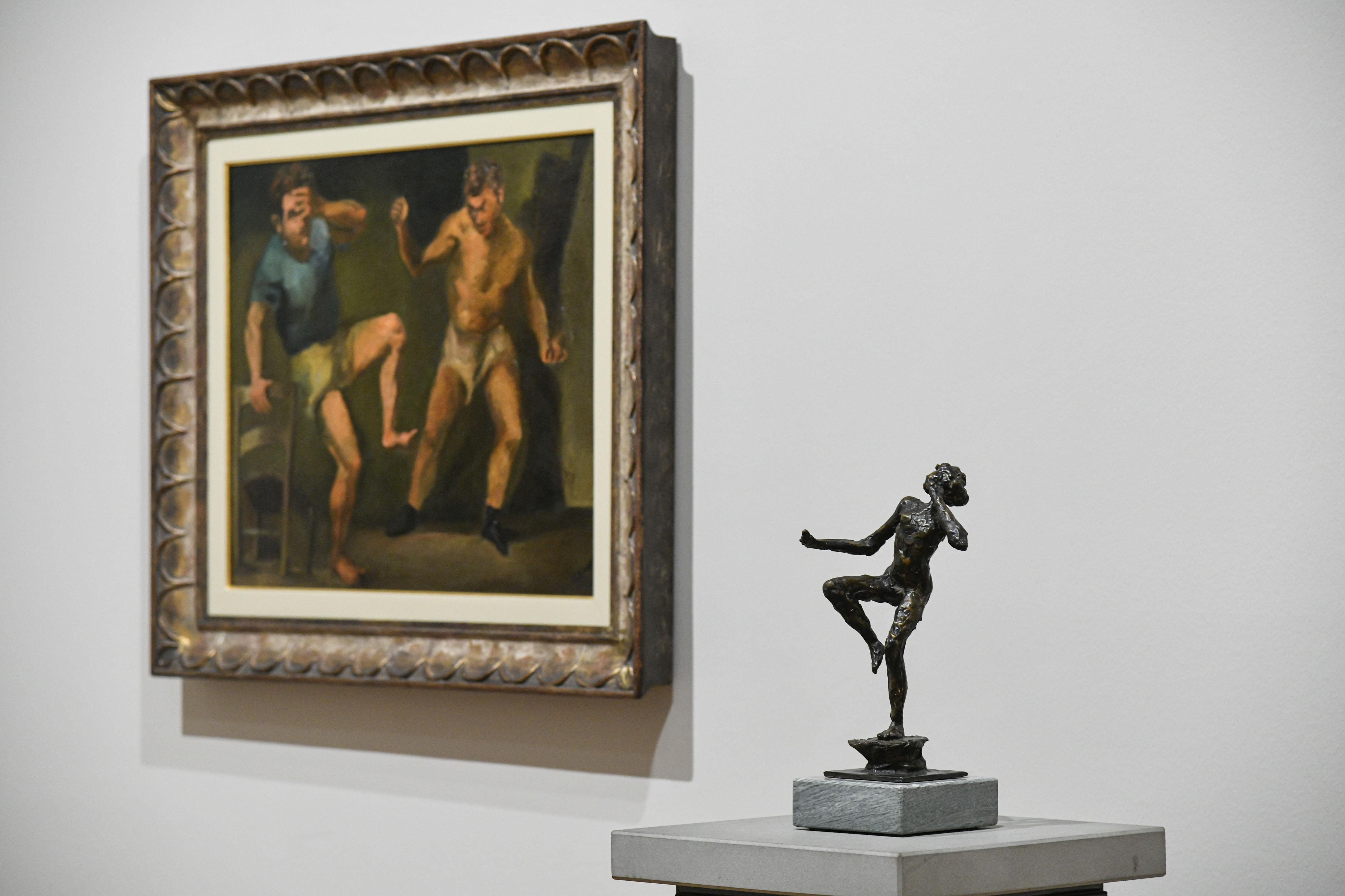 L'allestimento della mostra permette continui raffronti tra le opere esposte (Ph: Perottino).