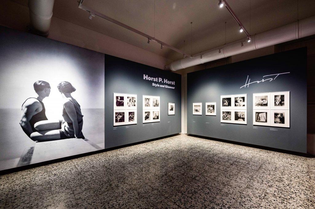 """Allestimento della personale """"Horst P. Horst. Style and Glamour"""", presso CAMERA, Torino."""
