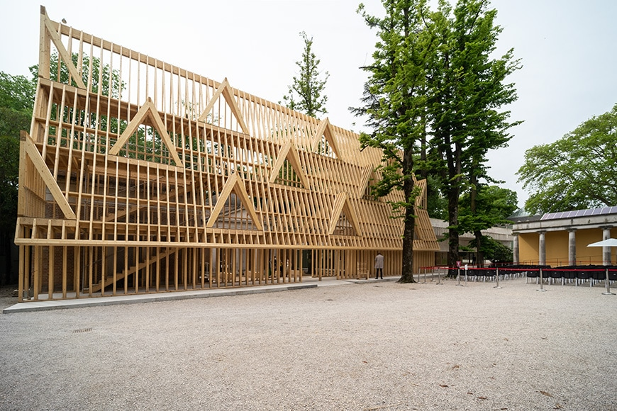 padiglioni biennale architettura