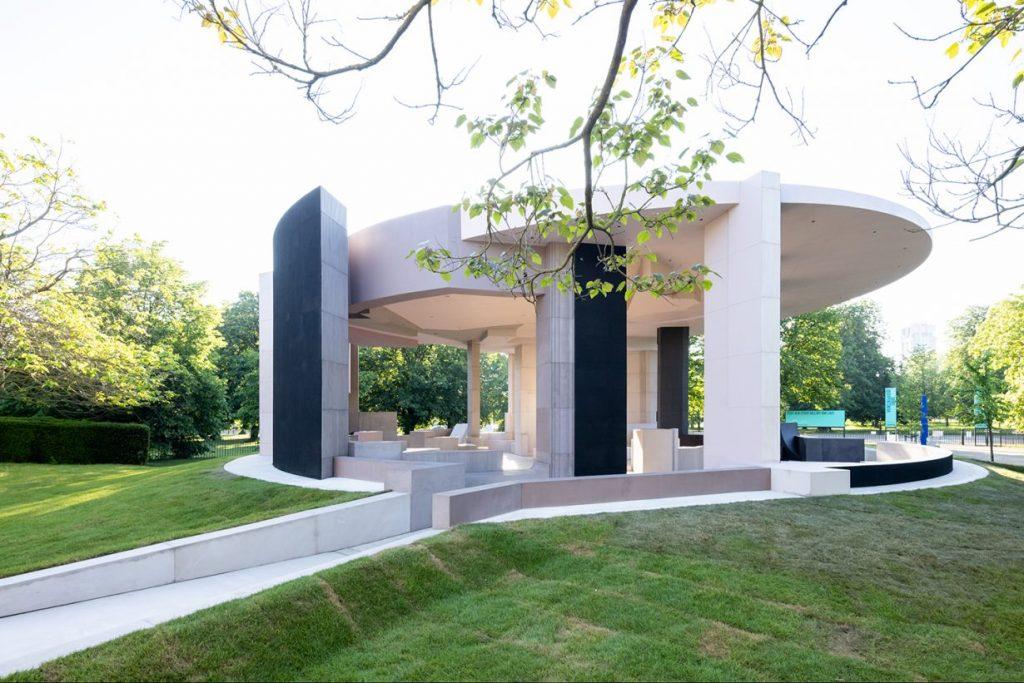 serpentine pavilion carbon negative