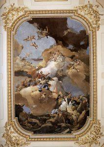 Giambattista Tiepolo,Venus and Vulcan, 1762-1766, affresco