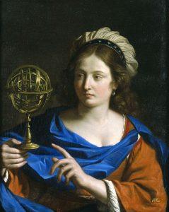 Guercino, Personificazione dell'astrologia, 1655 ca, olio su tela, 80,6x65,4 cm