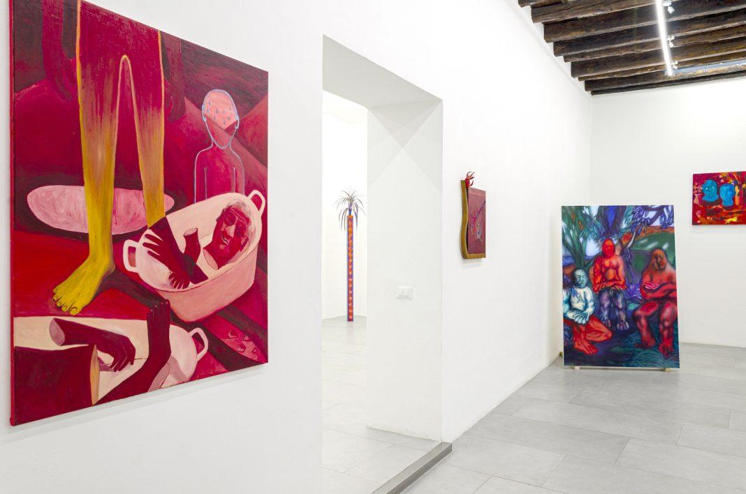 Installation view del SALON PALERMO (per cortesia Rizzuto Gallery)
