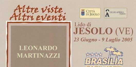 Leonardo Martinazzi – Altre viste, altri eventi
